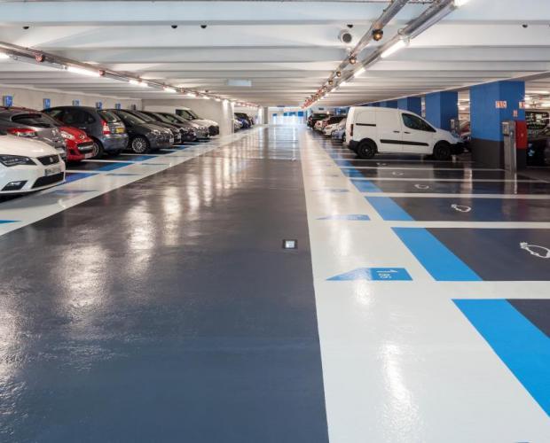 Parking Port Lympia Nice